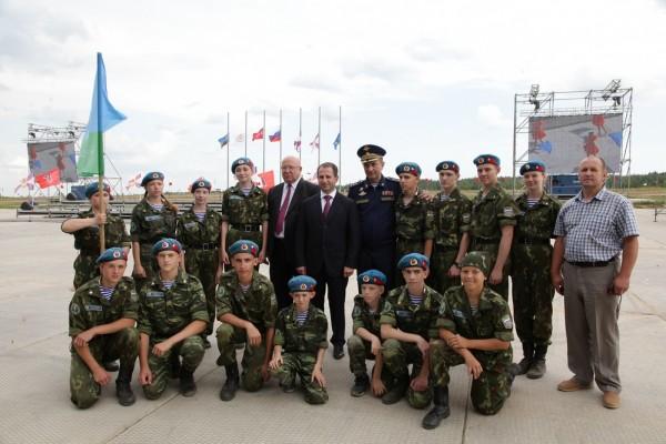 23 февраля, в расположении 210-ого гвардейского ковельского краснознамённого межвидового регионального учебного