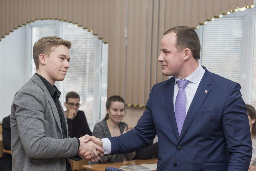 Глава администрации района провел открытый урок - Кстовский муниципальный район
