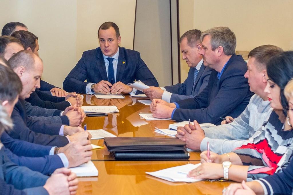 Рабочее совещание по вопросам организации здравоохранения в Кстовском районе - Кстовский муниципальный район